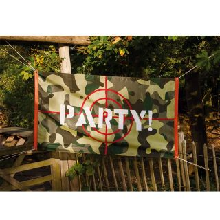 Camouflage Flag ' Party! '