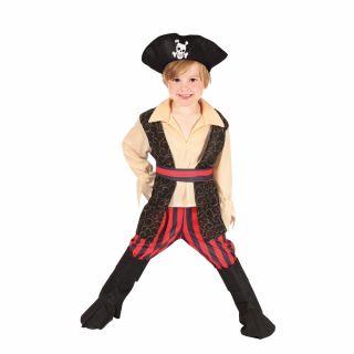 Children's Pirate Costume 3-4