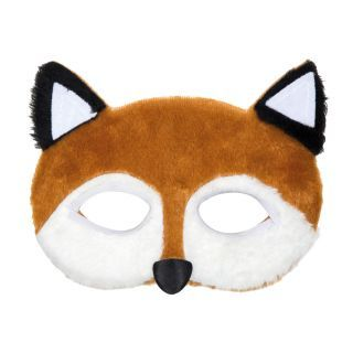 Plush Fox Mask