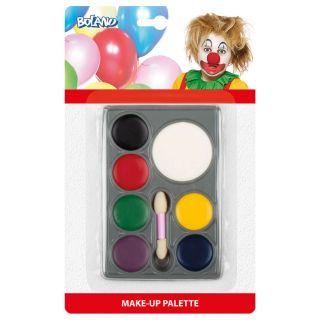 Face Paint Set - 7 Colors