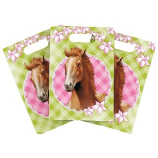 Partybags horses, 6pcs.