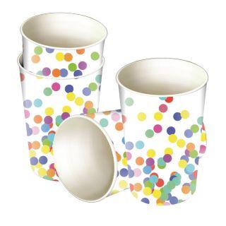 Cups Confetti, 8pcs.