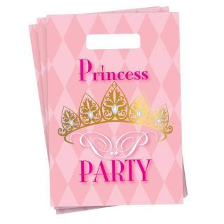 Portion bags Princess Party, 6pcs.