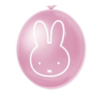 Miffy Pink balloons, 6pcs.