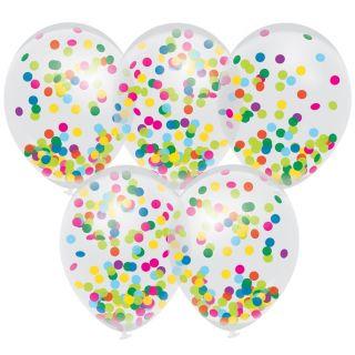 Confetti Balloons Color, 5pcs.