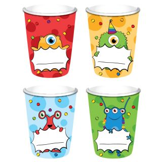 Cups Monster Party, 8st.