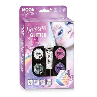 Facepaint and Glitter Set Unicorn