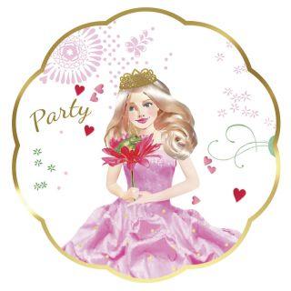 Invitations Princess, 6pcs.