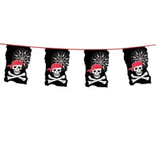 Pirate Flags line, 10mtr.