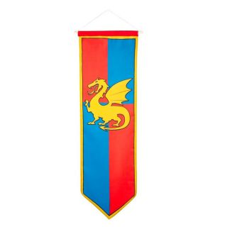 Knight Banner-Blue/Red