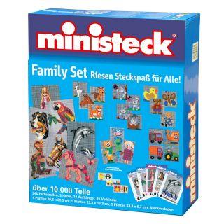 Ministeck Family Set, 10,000th.