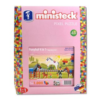 Ministeck Pony's 4in1, 1000st.