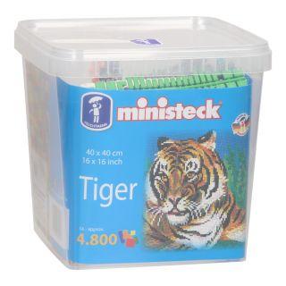 Ministeck Tiger XXL Bucket, 4800 pcs.