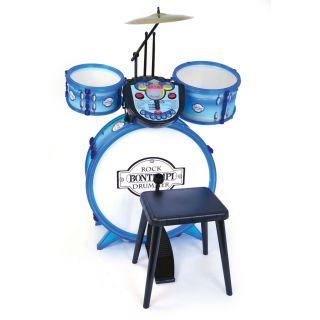 Bontempi Drum kit with Tutor, 4dlg.