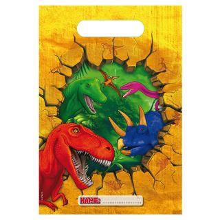 Dino Portion pouches, 6pcs.