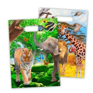 Safari Portion bags, 8pcs.