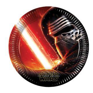 Star Wars plates, 8pcs.
