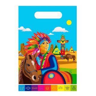 Indians Portion pouches, 8pcs.