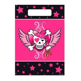 Pirate Girl Portion pouches, 8pcs.