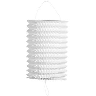 Lanterne blanche diamètre 16 cm