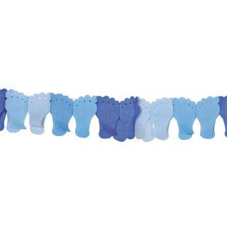 Paper Garland-Blue