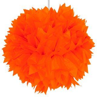 Orange Pompom