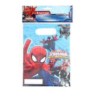 Portion bags Spiderman, 6pcs.