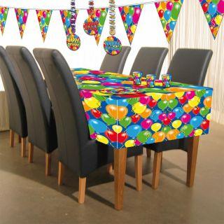 Tablecloth Balloons