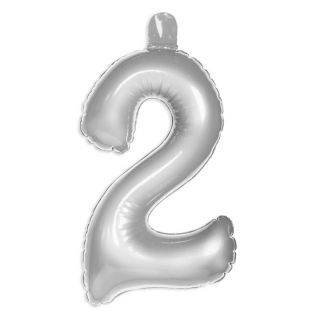 Inflatable figure 2 Silver