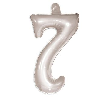 Inflatable Figure 7 silver
