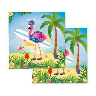 Napkins Flamingo, 20st.