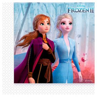 Disney Frozen 2 Napkins, 20 pieces.