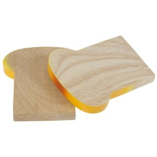 Wooden toasted bread, per piece