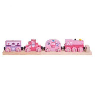 Wooden Train Princesses