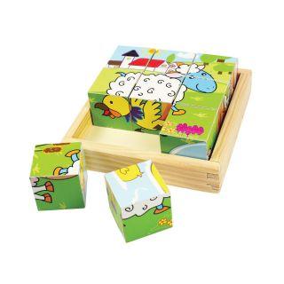 Farm Animals Block Puzzle