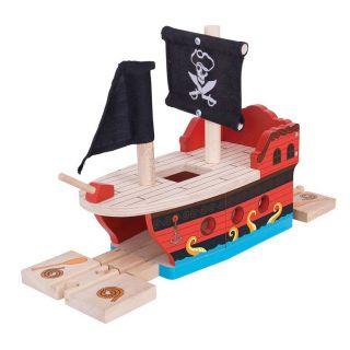 Wooden Rails-Pirate Ship