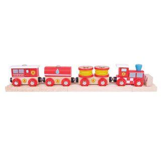 Wooden Fire Train