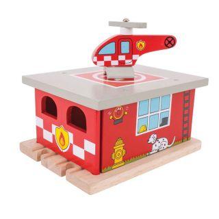 Wooden Rails-Fire Station