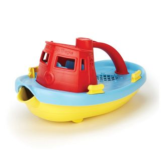 Green Toys Tugboat - Red / Blue