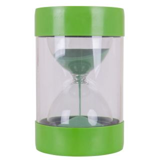 Stool with Hourglass Green - 1 minute