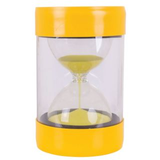 Stool with Hourglass Yellow - 3 minutes