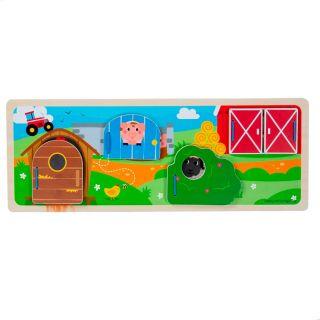 Feeler board on the Farm