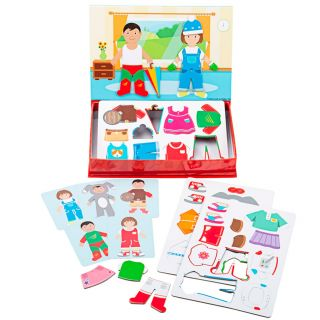 Mag-Play Magnet Puzzle - Dress Up