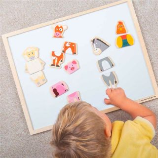 Mag-Play Magnet Dress Up Puzzle - Farm