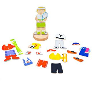 Mag-Play Dress Up Puzzle - Sport