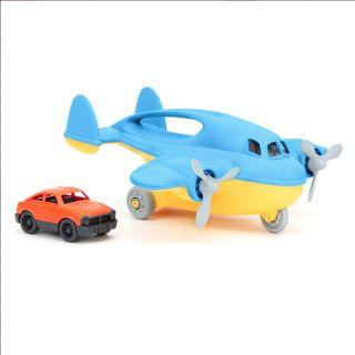 Green Toys Cargo Plane with Car