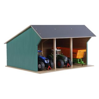 Kids Globe Agricultural Shed for Tractors Large 1:32