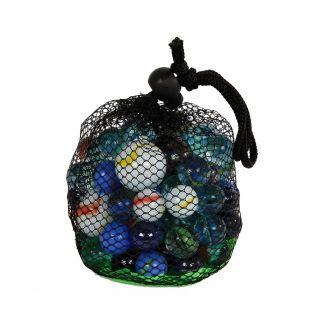 Marbles in mesh bag, 500gr.