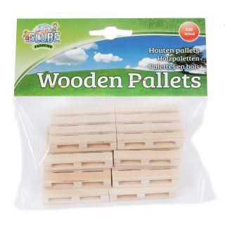 Kids Globe Wooden Pallets 1:32, 8pcs.