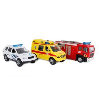 2-Play Die-cast Emergency Vehicle Service Belgium